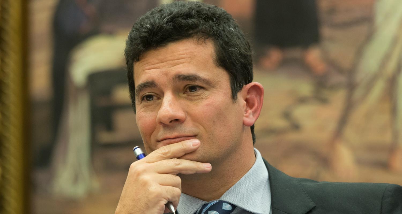 Juiz Sérgio Moro durante depoimento na comissão da reforma do Código de Processo Penal (Lula Marques/Agência PT)
