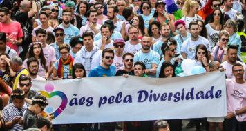 Mães pela Diversidade na Parada LGBT de São Paulo, em 2016 (Divulgação)