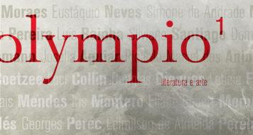 Título da revista Olympio, nova publicação literária (Reprodução/ Arte Revista CULT)