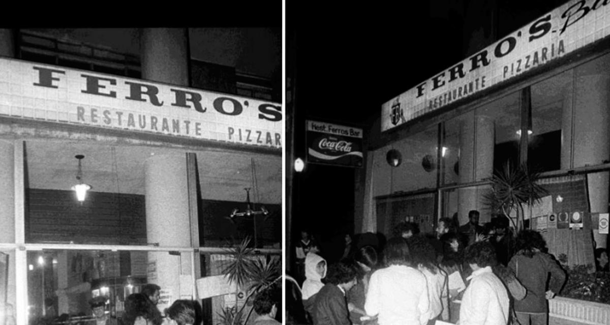 Fachada do Ferro`s Bar, frequentado por lésbicas, no centro de São Paulo (Foto Ovídio Vieira / Folha Imagem)