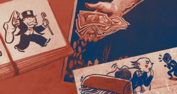 A lógica da sociedade capitalista (Arte Andreia Freire / Reprodução)