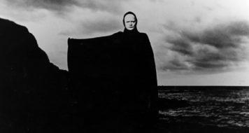 Cena do filme 'O sétimo selo', de Ingmar Bergman (Reprodução)