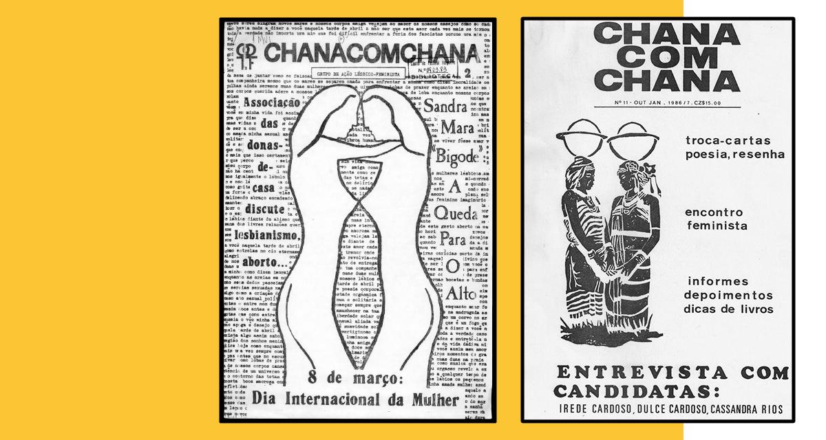 Boletim Chanacomchana, lançado pelo Galf em 1981 e circulou até 1987 (Reprodução)