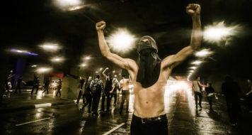 Uma das manifestações de Junho de 2013 (Foto Marcos Ninni / Midia Ninja)