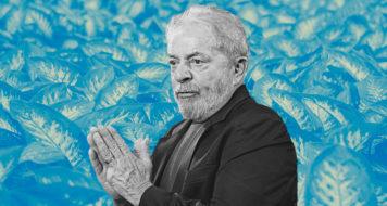 O ex-presidente Lula, preso no âmbito da Operação Lava Jato (Arte Andreia Freire/RevistaCULT)