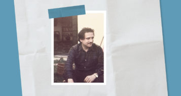 Bento Prado Júnior em Maintenon, Franca, em 1972 (Arquivo de família)