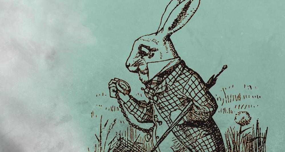 O Coelho Branco e o delírio cronologista