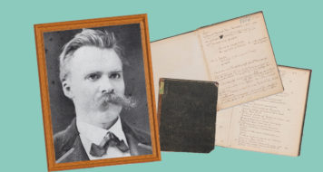 Nietzsche em Basel, 1876 (Arte Andreia Freire / Reprodução)