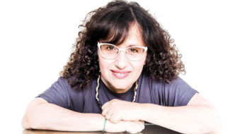 A argentina Patricia Kolesnicov, editora de cultura do Clarín (Foto Sebastián Freire / Divulgação)