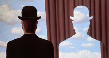 René Magritte, Décalcomanie, 1966 (Reprodução)