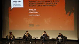 Seminário CULT: Fernando Luna, Bruno Torturra, Conrado Corsaletti e Helena Bagnoli (Foto: Joana Teixeira)