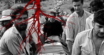 Em abril de 1996, 19 trabalhadores rurais sem-terra foram mortos no episódio que ficou conhecido como massacre de Eldorado dos Carajás (Foto João Roberto Ripper / Agência Brasil / Arte Andreia Freire)