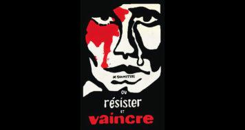 """""""Submeter-se ou resistir e vencer"""" – cartaz concebido coletivamente, maio de 68 (Reprodução)"""