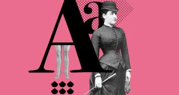 Bertha Pappenheim, 1882. O caso princeps da psicanálise: Anna O. (Arte Andreia Freire / Arquivo Sanatório Bellevue, Alemanha)