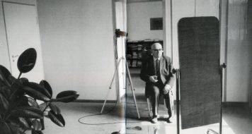 Theodor Adorno, Frankfurt, 1963