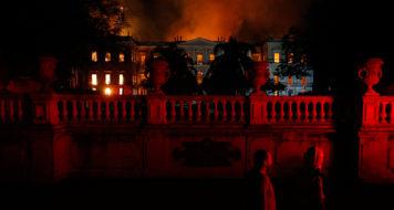 Museu Nacional: incêndio destruiu 90% do acervo de instituição de 200 anos (Foto Tania Rego / Agência Brasil)