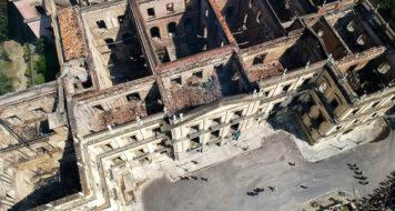 Museu Nacional: incêndio destruiu 90% do acervo de instituição de 200 anos (Foto: Mauro Pimentel)