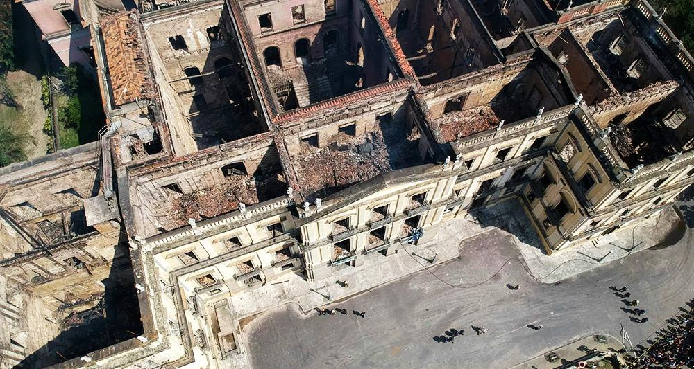 Rio de Janeiro, uma cidade entre ruínas