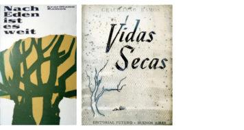 Da esquerda para a direita: traduções em alemão e espanhol (Fundo Graciliano Ramos do Arquivo IEB/USP / GR-F04-013 ; GR-F04-054)