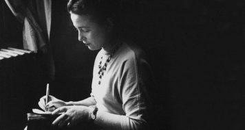 Simone de Beauvoir em 1952 (GiseleFreund_divulgacao)
