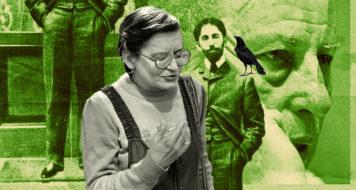 Orides Fontela, Horacio Quiroga e Claudio Willer (Arte Andreia Freire)