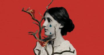 Virginia Woolf, 1902 (Arte Andreia Freire / Foto George Charles Beresford)