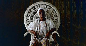 Mãe Hilda – Ocupação Ilê Aiyê no Itaú Cultural (Foto Mario Cravo Neto / Divulgação)