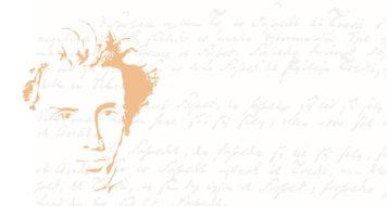 Soren Kierkegaard. Manuscrito de A doença até a morte ou Tratado do desespero, de Kierkegaard, 1849 (Arte Revista Cult)