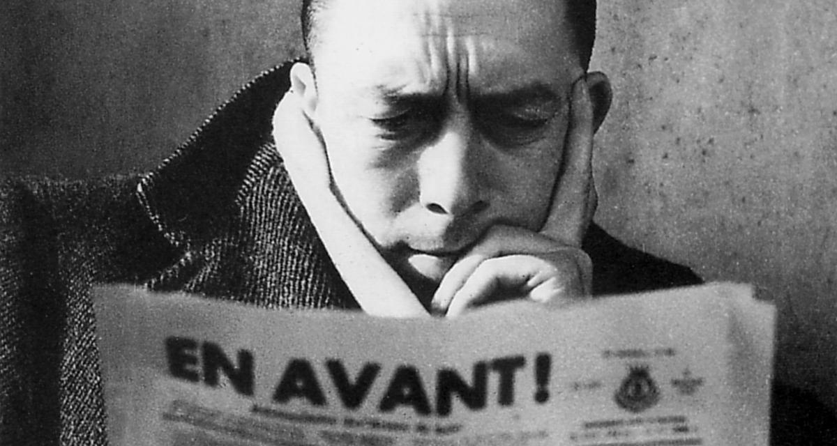 Albert Camus (Foto Lennart Green/Albert Camus, Vérité et Légendes, Ed. du Chêne)