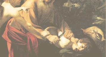 Caravaggio, O sacrifício de Isaac, 1603 (Arte Revista Cult)