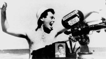 """Glauber Rocha nas filmagens de """"Barravento"""", 1962 (Reprodução)"""