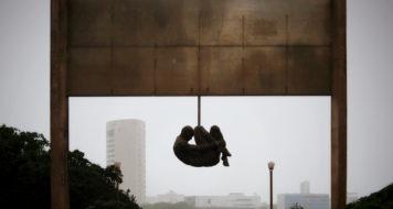 Demetrio Albuquerque, monumento Tortura nunca mais, Pernambuco, Brasil (Divulgação)