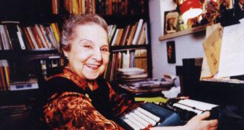 A escritora de literatura infanto-juvenil Tatiana Belinky (Divulgação)