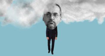 o ministro da Educação Abraham Weintraub (Arte Andreia Freire/Revista CULT)