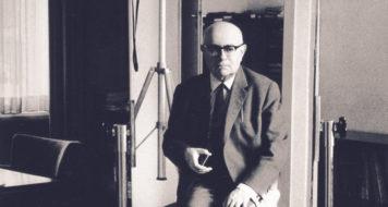 Theodor W. Adorno (1903-1969) / (Foto Stefan Moses)