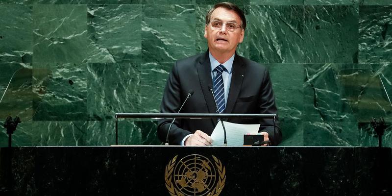 Para quem falou Bolsonaro quando discursou na ONU?