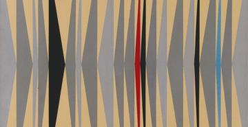 Tinta automotiva sobre madeira, Ivan Serpa, 1953 (Wiki Arte/Domínio Público)