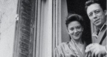 Camus e Maria Casarès em 1948, Paris, rua de Vaugirard, 148