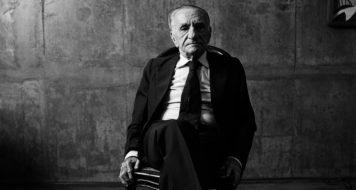 Retrato de João Cabral, por Bob Wolfenson (Foto: Bob Wolfenson)