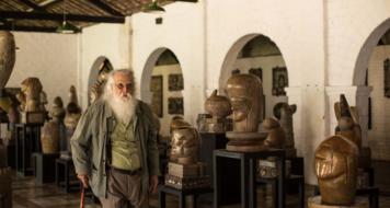 Recife, Pernambuco, Brasil. Oficina de cerâmica e Parque de esculturas de Francisco Brennand.