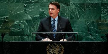 (Nova York - EUA, 24/09/2019) Presidente da República, Jair Bolsonaro, discursa durante a abertura do Debate Geral da 74ª Sessão da Assembleia Geral das Nações Unidas (AGNU).