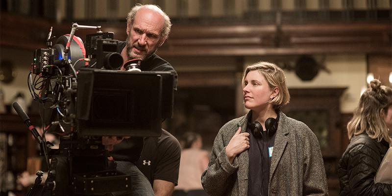Greta Gerwig, diretora de Little Women (Adoráveis Mulheres, 2019)