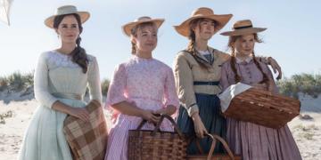Emma Watson (Meg), Florence Pugh (Amy), Saoirse Ronan (Jo) e Eliza Scanlen (Beth) na nova adaptação de Little Women