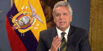 O presidente do Equador Lenín Moreno