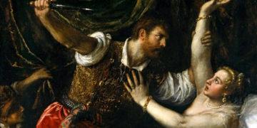 'O Estupro de Lucrécia', quadro de Ticiano (Foto: Reprodução)