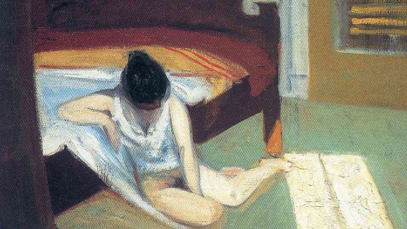 Summer Interior Edward Hopper Data: 1909