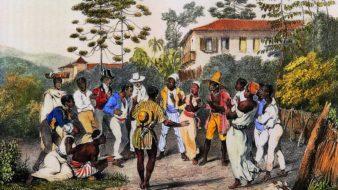 'Dança do Batuque', do alemão Rugendas (1802-1858)
