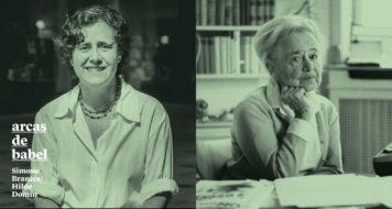 Simone Brantes e Hilde Domin