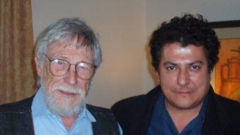 Gary Snyder e Rodrigo Garcia Lopes