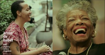 Lubi Prates e Maya Angelou